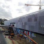 chantier gare de Maracanã Fratelli Mariani